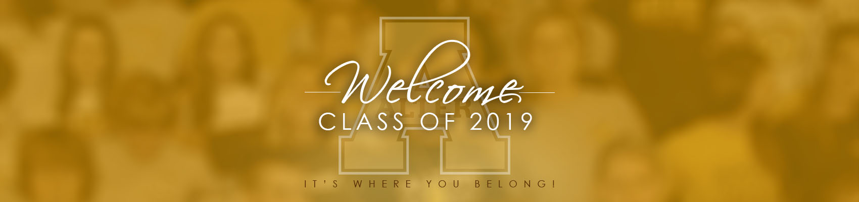 welcome class 2019